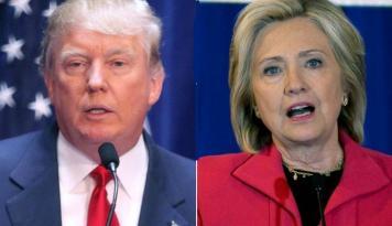 Foto Sengit, Pertarungan Trump-Hillary di Medsos