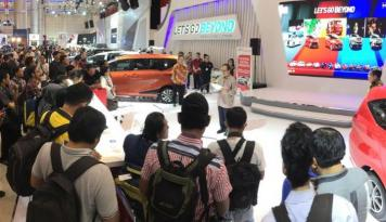 Foto Lewat Semangat Let's Beyond Toyota Kembali Hadir di GIIAS Surabaya