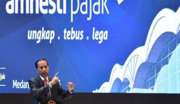 Foto Yustinus Sebut Jokowi dan Sri Mulyani Jadi Penentu Kesuksesan Amnesti Pajak