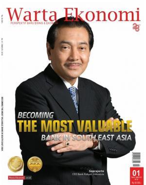 Cover Majalah Warta Ekonomi Edisi 01/MMXVIII/2018